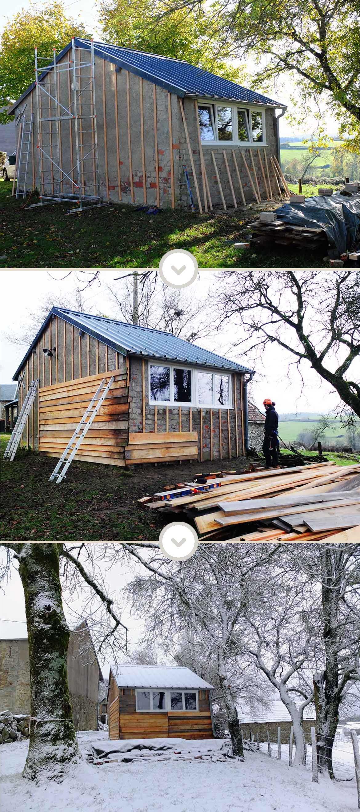 Misc atelier DIY bardage bois